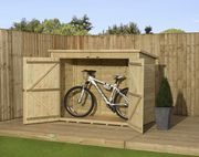 Empire Bike Store Pressure Treated Tongue And Groove 6X4ft